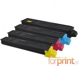 4 Toners Compatibles, Kyocera TK 8315 Noir + Couleur ~ 12.000 / 6.000 Pages