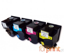 4 Toners Compatibles, Konica Minolta TN-310 Noir + Couleur ~ 11.500 Pages