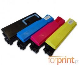 4 Toners Compatibles, Kyocera TK 560 Noir + Couleur ~ 12.000 / 10.000 Pages
