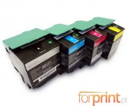 4 Toners Compatibles, Lexmark C540H1 ~ 2.500 / 2.000 Pages