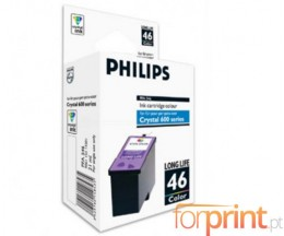 Cartouche Original Philips PFA546 / 46 Couleur ~ 1.000 Pages