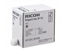 5 Cartouches Originales, Ricoh 817104 Noir 600ml