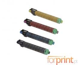 4 Toners Compatibles, Ricoh 84165X Noir + Couleur ~ 28.000 / 18.000 Pages