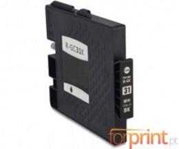 Cartouche Compatible Ricoh GC-31 / GC-31 XXL Noir 78ml