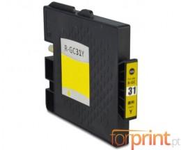 Cartouche Compatible Ricoh GC-31 / GC-31 XXL Jaune 64ml