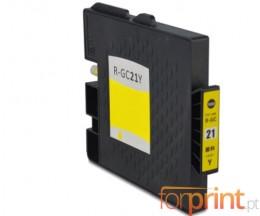 Cartouche Compatible Ricoh GC-21 / GC-21 XXL Jaune 64ml