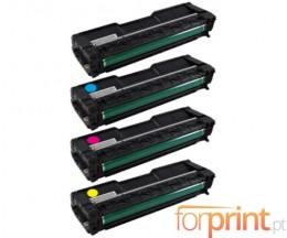 4 Toners Compatibles, Ricoh 4064XX Noir + Couleur ~ 6.500 / 6.000 Pages