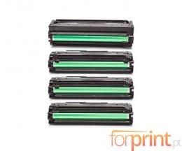4 Toners Compatibles, Samsung 503L Noir + Couleur ~ 8.000 / 5.000 Pages
