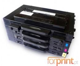 4 Toners Compatibles, Samsung 500D Noir + Couleur 7.000 / 5.000 Pages