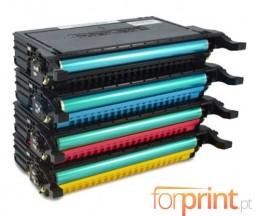 4 Toners Compatibles, Samsung 660B Noir + Couleur ~ 5.000 Pages