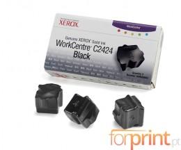 10 ColorSticks Compatibles, Xerox 016204400 Noir ~ 14.000 Pages