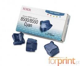 3 ColorSticks Originales, Xerox 108R00669 Cyan ~ 3.000 Pages