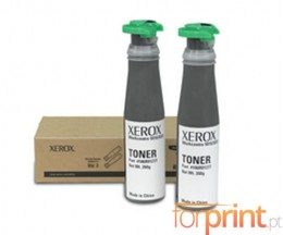 2 Toners Originales, Xerox 106R01277 Noir ~ 6.300 Pages