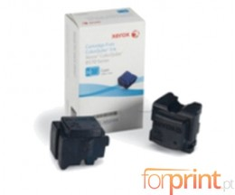 2 Toners Originales, Xerox 108R00931 Cyan ~ 4.400 Pages